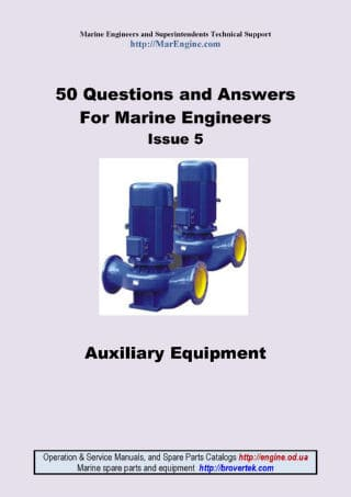 Questions and Answers for marine engineer