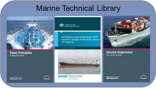 Marine technical library