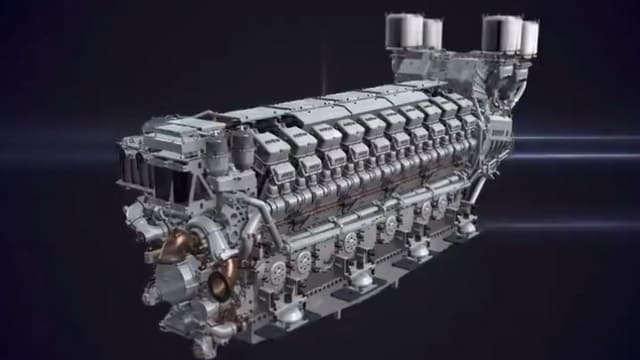 How diesel engine produced